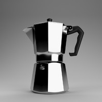 3d 3ds coffee maker