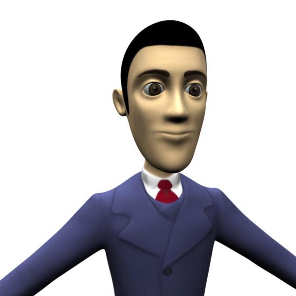 3d ma human man