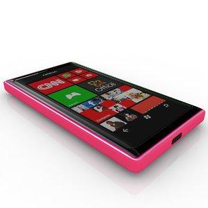 3d model of nokia lumia 505