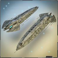blender battlecruiser