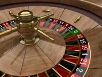 roulette wheel 3d model