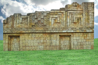 AZTEC TEMPLE WALL