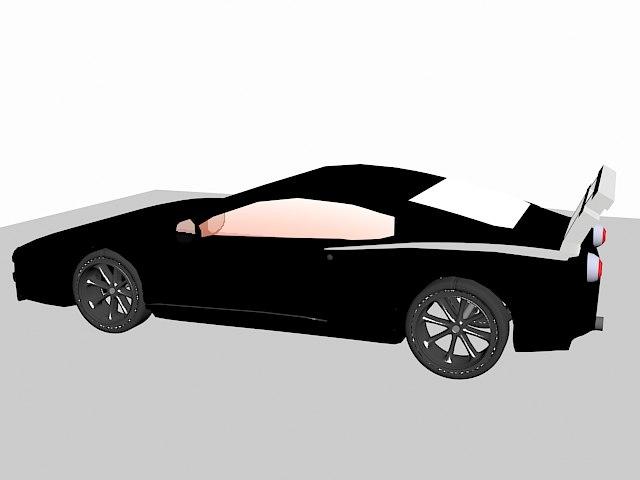 3d designed model