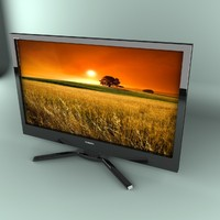 3ds max lcd tv