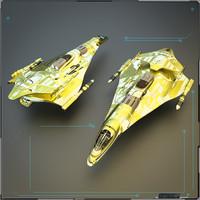 3d model military hunter