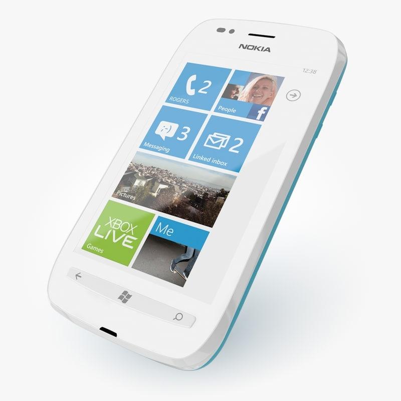 3d nokia lumia 710