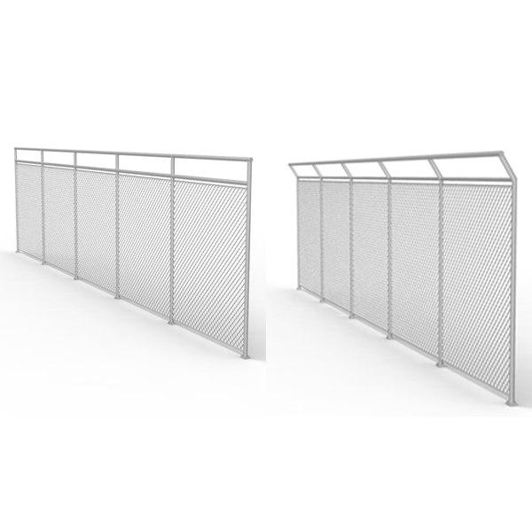 metal fence 3d max
