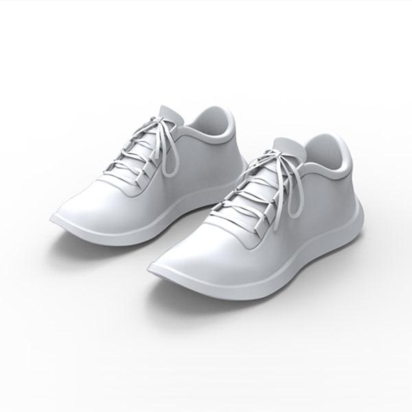 3d model of sport shoe
