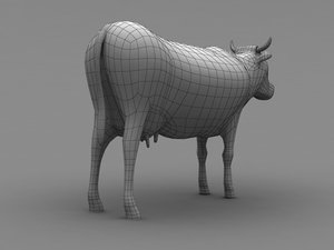 3ds cow