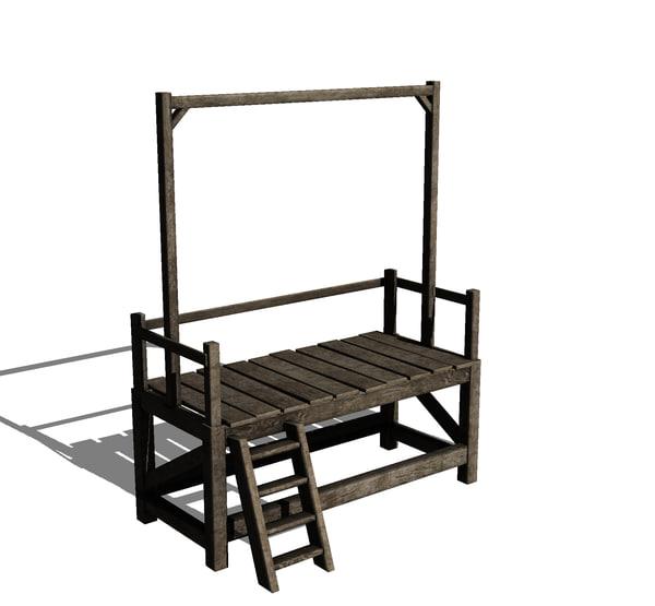 3ds gallows platform
