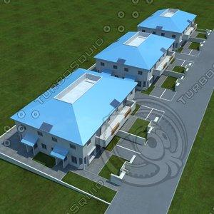 3d model buildings 5