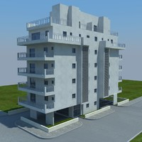 buildings 6 3d model