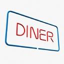 Diner Sign 3D models