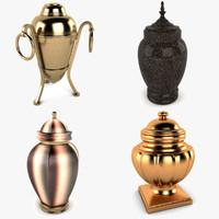 3dsmax cremation urn