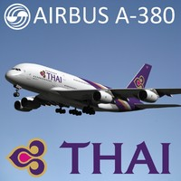 Airbus A-380 Thai Airways