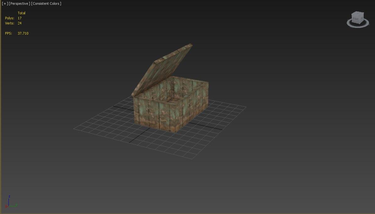3d box animation model