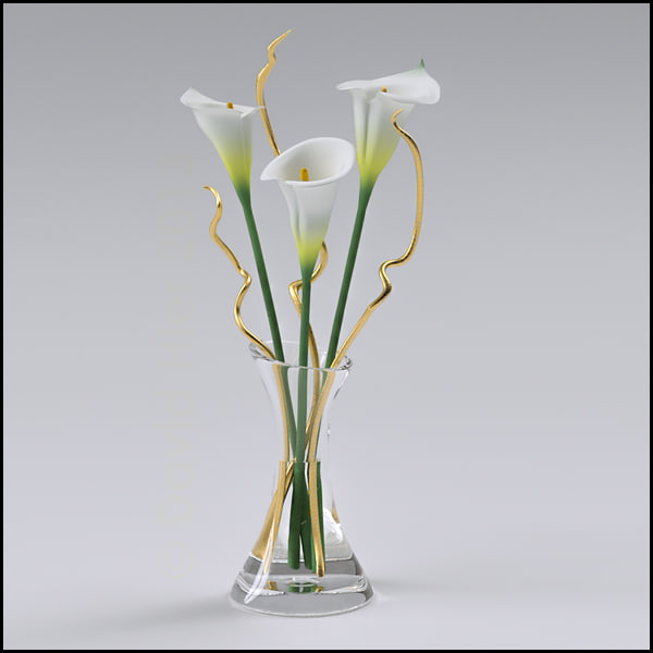 maya ikebana flower arrangement lilies