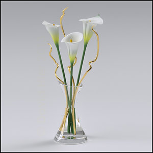 maya ikebana flower arrangement lilies