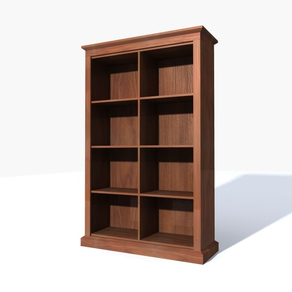 bookshelf 3d max