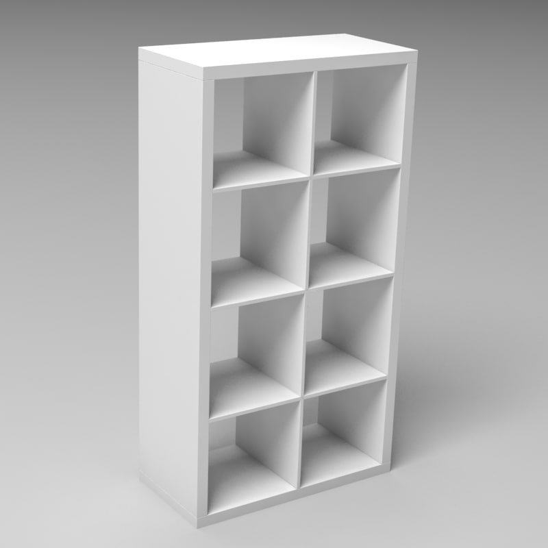 modern bookcase max