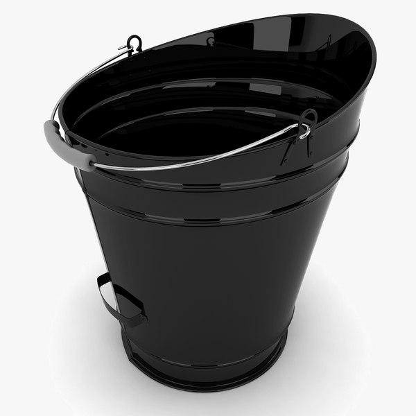 3d bucket modeled