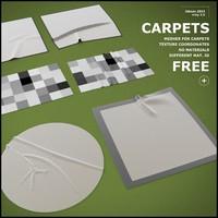 carpets meshes obj free