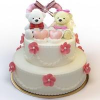 3d cake 045 model