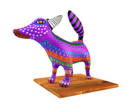3d model of american jackal alebrije