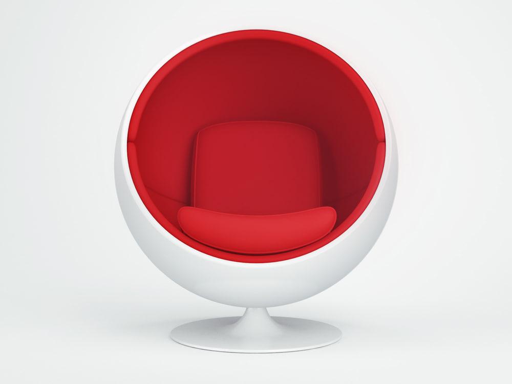 ball chair 3d max