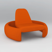 3d obj branca lisboa gt2000 lounge chair