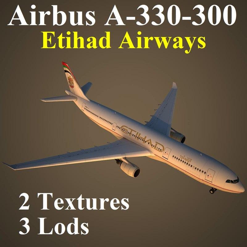 3d model of airbus etd