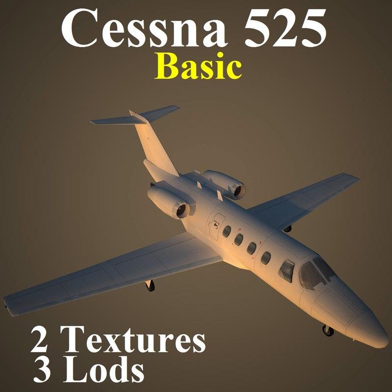 max cessna 525 basic
