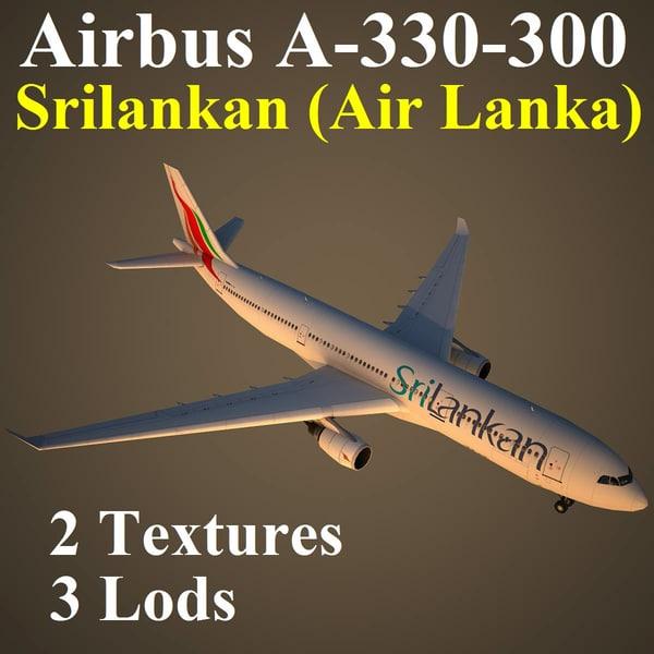 3d airbus alk model