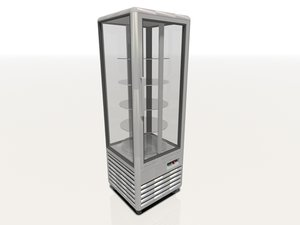 chiller freezer display 3d model