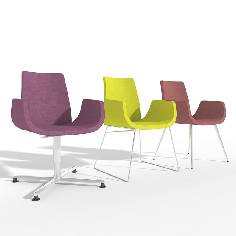 s max chair nero