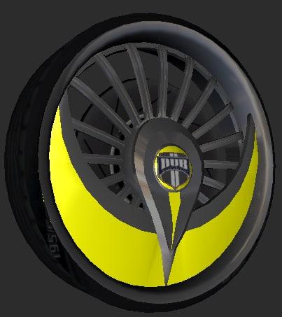 3ds v2 pack dub wheels