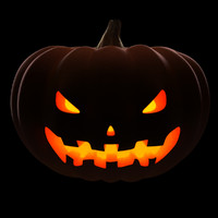 3ds max posing halloween pumpkin