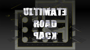 set pack road 3d model
