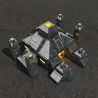 Altar sci-fi building