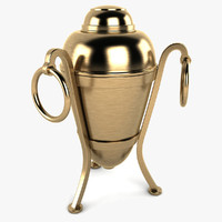 3ds max cremation urn