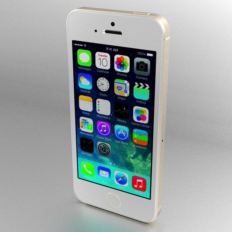 3d iphone 5s apple