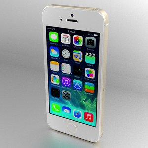 3d iphone 5s apple