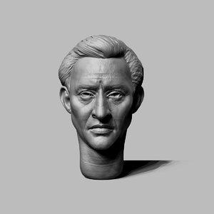 3d model decimated head