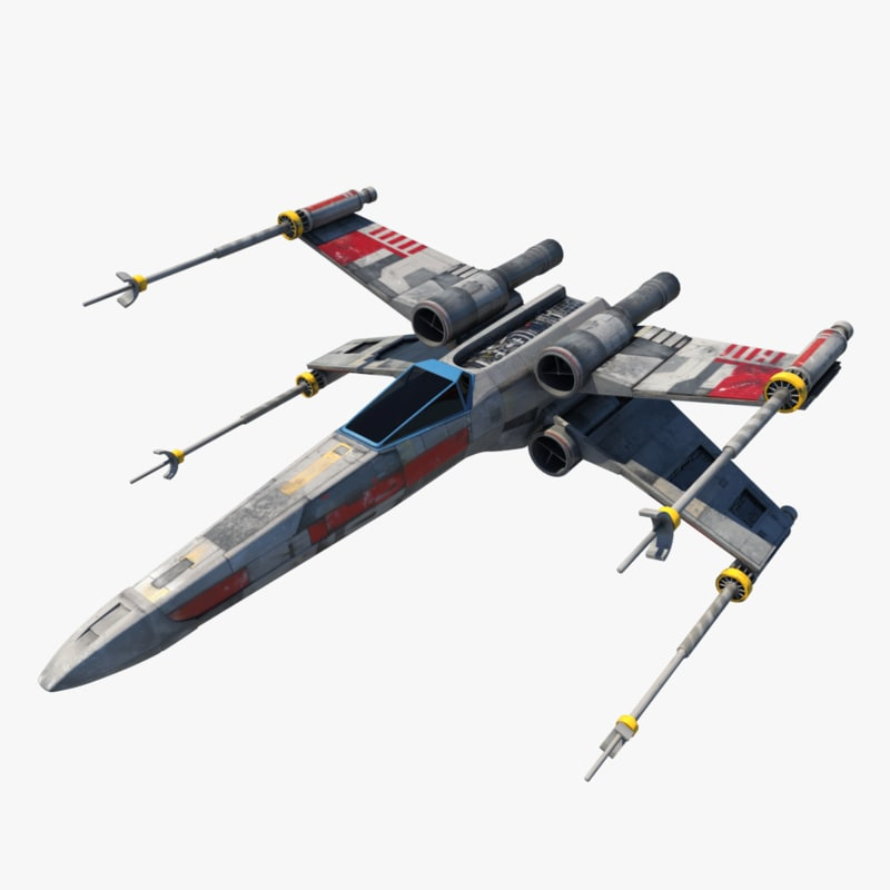 x-wing fighter 3d 3ds