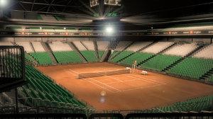 tennis arena 3d x