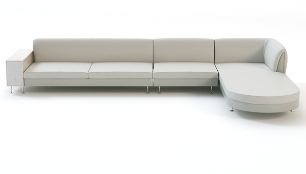 free 3ds model contemporary corner sofa