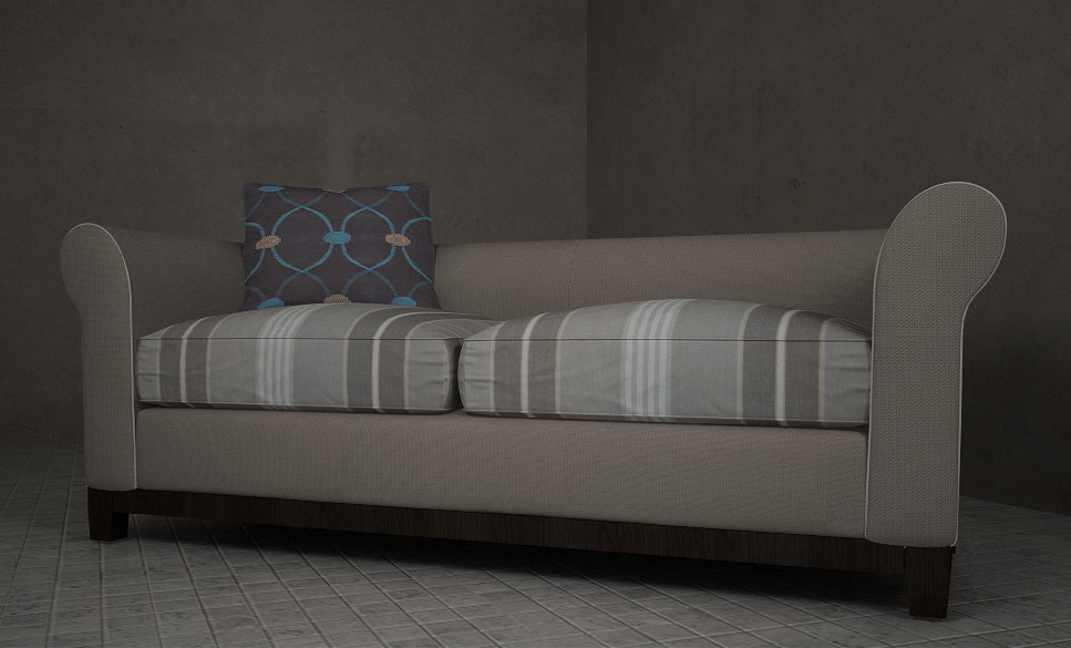 riley slate sofa obj
