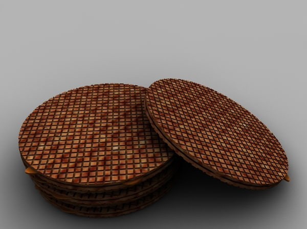 free dutch food 3d model