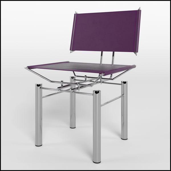 series 8600 chair kusch 3d obj