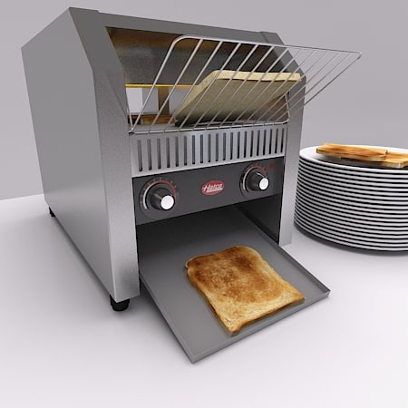 catering toaster 3d model